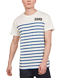 Men's Striped Front T-Shirt, Created for Macy's