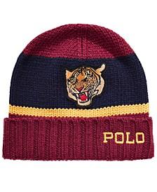 Men's Rugby-Stripe Cuffed Hat