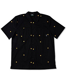 Men's Embroidered Tree Shirt