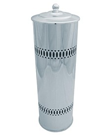 Three Roll Toilet Tissue Cylinder with Lid