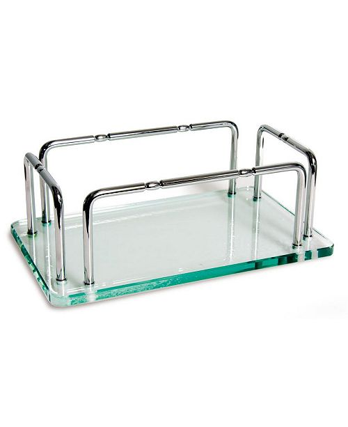 Taymor Glass Hand Towel Tray with Rails