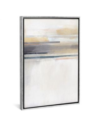 "Sandy Coast I by Alison Jerry Gallery-Wrapped Canvas Print - 40"" x 26"" x 0.75"""