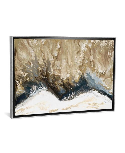 """iCanvas Elemental Wave by Blakely Bering Gallery-Wrapped Canvas Print - 26"""" x 40"""" x 0.75"""""""