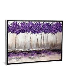 "iCanvas Purple Summer by Osnat Tzadok Gallery-Wrapped Canvas Print - 26"" x 40"" x 0.75"""