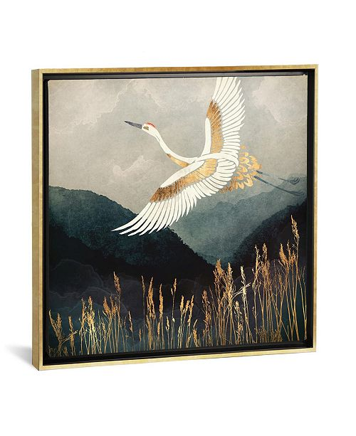 """iCanvas Elegant Flight by Spacefrog Designs Gallery-Wrapped Canvas Print - 18"""" x 18"""" x 0.75"""""""