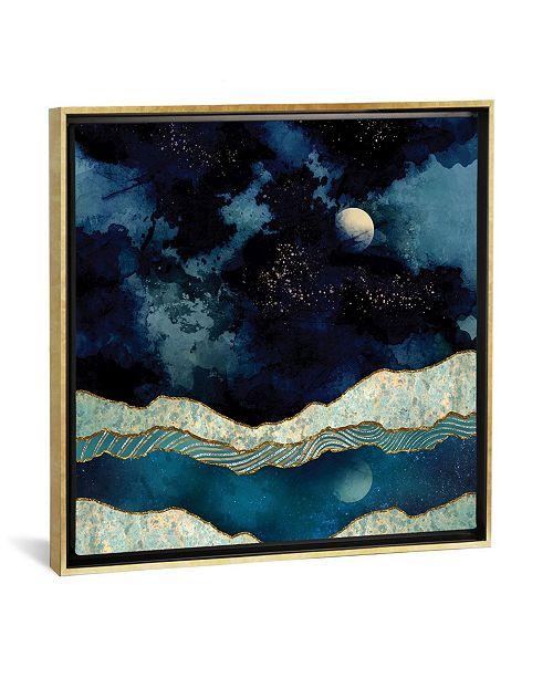 """iCanvas """"Indigo Sky"""" by Spacefrog Designs Gallery-Wrapped Canvas Print"""