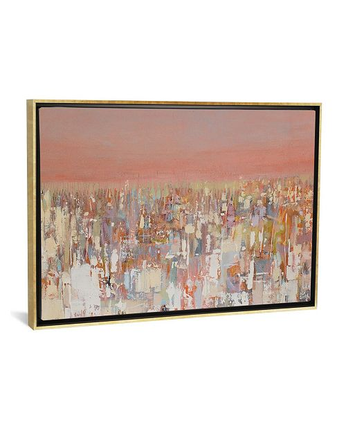 """iCanvas Cityscape by Wayne Sleeth Gallery-Wrapped Canvas Print - 26"""" x 40"""" x 0.75"""""""