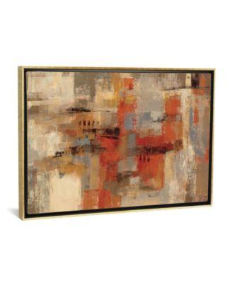 "City Wall by Silvia Vassileva Gallery-Wrapped Canvas Print - 18"" x 26"" x 0.75"""