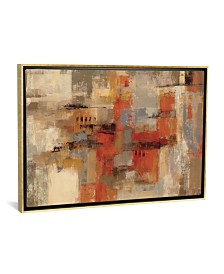 "iCanvas City Wall by Silvia Vassileva Gallery-Wrapped Canvas Print - 18"" x 26"" x 0.75"""