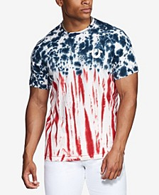 Men's Americana Tie Dyed Short Sleeve T-Shirt