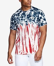 Men's Americana Tie Dyed Short Sleeve T-Shirt