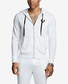 Men's Big T Horseshoe Zip Up Hoodie