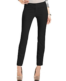 Vince Camuto Pants, Skinny Ponte-Knit Ankle