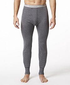 Men's 2 Layer Cotton Blend Thermal Long Johns