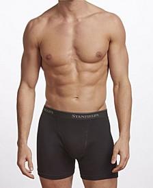 Premium Cotton Men's 2 Pack Boxer Brief Underwear