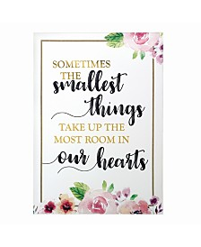 Lillian Rose Smallest Things Watercolor Sign