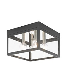 Livex Nyack 4-Light Outdoor Ceiling Mount