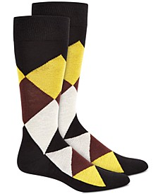 Men's Argyle Socks, Created for Macy's