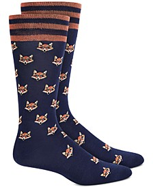Men's Fox Socks, Created for Macy's