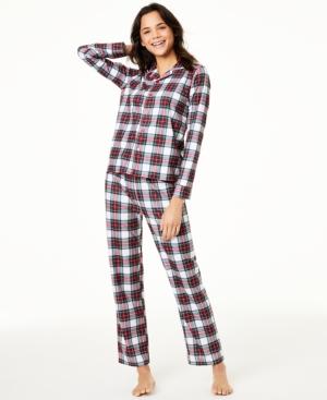 Matching Women's Stewart Plaid Family Pajama Set