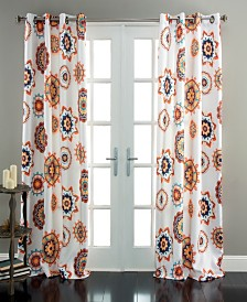 "Adrianne Room Darkening 84""x52"" Window Curtain Set"