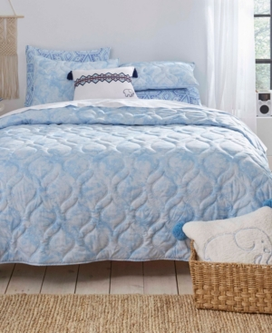 Ivory Ella Dana Full/Queen Quilt Set Bedding
