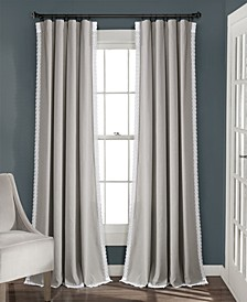 Rosalie Lace Trim Curtain Collection