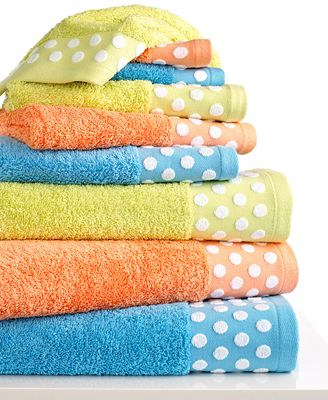 CLOSEOUT! Bianca Dots Towel Collection