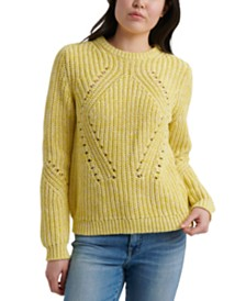 Lucky Brand Crewneck Long-Sleeve Sweater