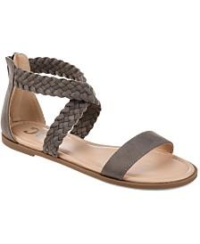 Journee Collection Women's Comfort Lucinda Sandals
