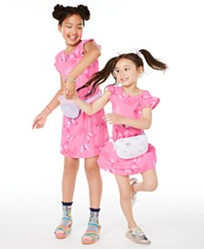 Epic Threads Toddler, Little & Big Girls Butterfly-Print Dress, Created for Macy's & Champion Big Girls Sling Packs