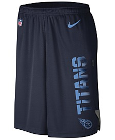 Nike Men's Tennessee Titans Player Knit Breathe Shorts