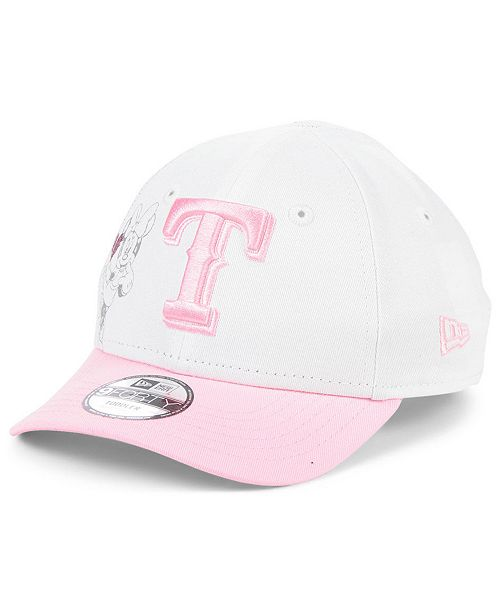New Era Toddlers & Little Girls Texas Rangers Minnie Heart 9FORTY Adjustable Cap