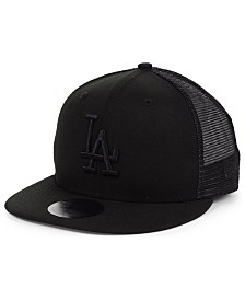 New Era Los Angeles Dodgers Blackout Meshback 59FIFTY-FITTED Cap