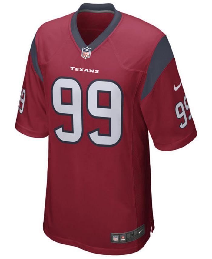 Nike Men's J.J. Watt Houston Texans Game Jersey & Reviews - Sports Fan Shop By Lids - Men - Macy's