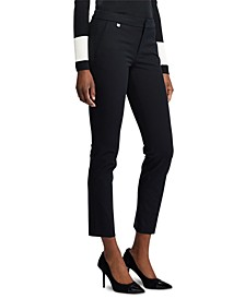Petite Stretch Straight-Leg Pants