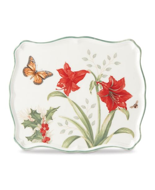 Lenox Butterfly Meadow Holiday Trivet, Created for Macy's