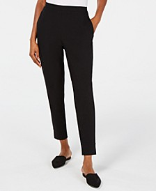 Organic Tapered Ankle Pants, Regular & Petite