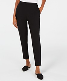 Eileen Fisher Organic Tapered Ankle Pants, Regular & Petite