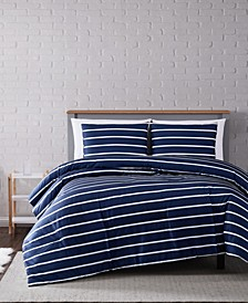 Maddow Stripe Twin XL Comforter Set