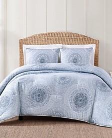 Ocean Blues 3-Pc. Comforter Sets