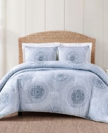 Ocean Blues 3-Pc. Comforter Set, Full/Queen