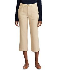 Lauren Ralph Lauren Petite Straight-Leg Stretch Pants
