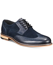 Men's Fabian Wingtip Lace-Up Oxfords, Created for Macy's
