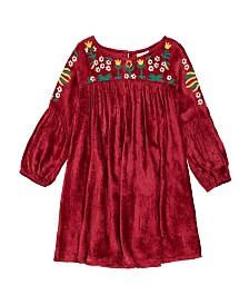 Masala Baby Kids Belle Dress Velvet