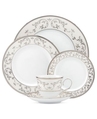 Lenox Opal Innocence Silver Collection  sc 1 st  Macy\u0027s : silver dinnerware - pezcame.com
