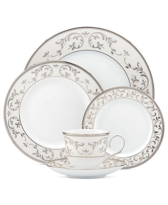 Lenox - Opal Innocence Silver 5-Piece Placec Setting