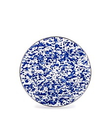 "Cobalt Swirl Enamelware Collection 10.5"" Dinner Plate"