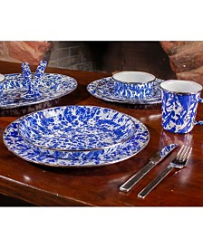 Cobalt Swirl Enamelware Collection