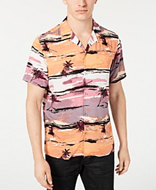 INC Men's Tropical Camp Shirt, Created for Macy's